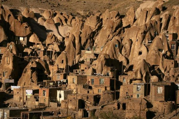 Kandovan village in Iran