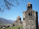 Haghpat Monastery in spring