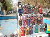 Armenian dolls at the Virnisage market